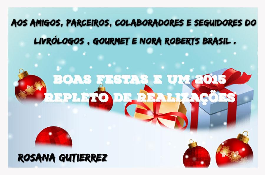 natal2014--Livrologos - Nora Roberts Brasil