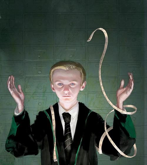 draco - harry potter ilustrado