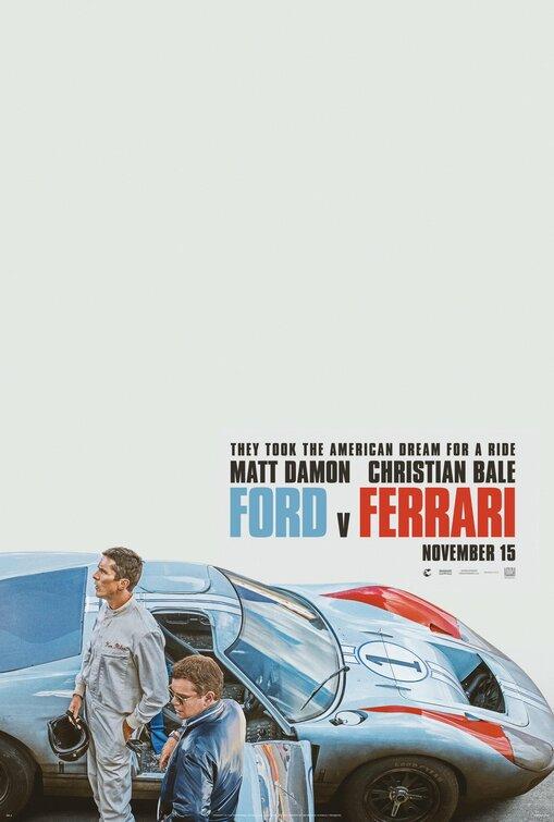 poster Ford e Ferrari