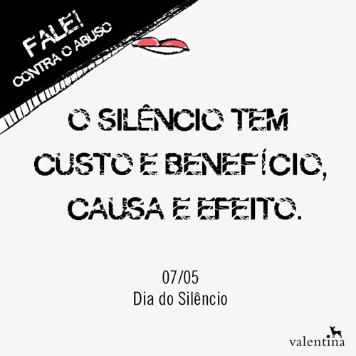 dia silencio - FaleContraoAbuso